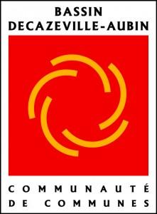 Logo de la Communauté de communes du Bassin Decazeville-Aubin
