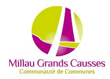 Logo de la Communauté de communes de Millau Grands Causses